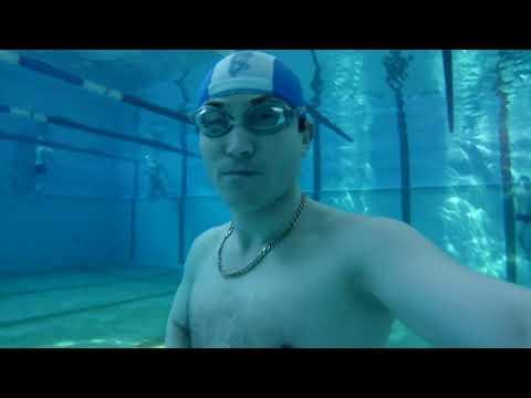 Техника для начинающих. Как ходить под водой в бассейне. Видео №4