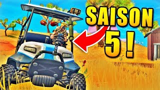 ALL THE EMPLACEMENTS OF FORTNITE (SAISON 5) - CONCOUR BATTLE PASS