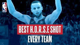 Best H.O.R.S.E. Shot From Every Team | 2018 NBA Season