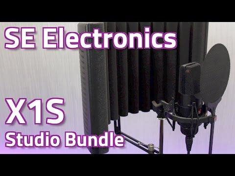 SE Electronics X1S Studio Bundle - Review & Demo