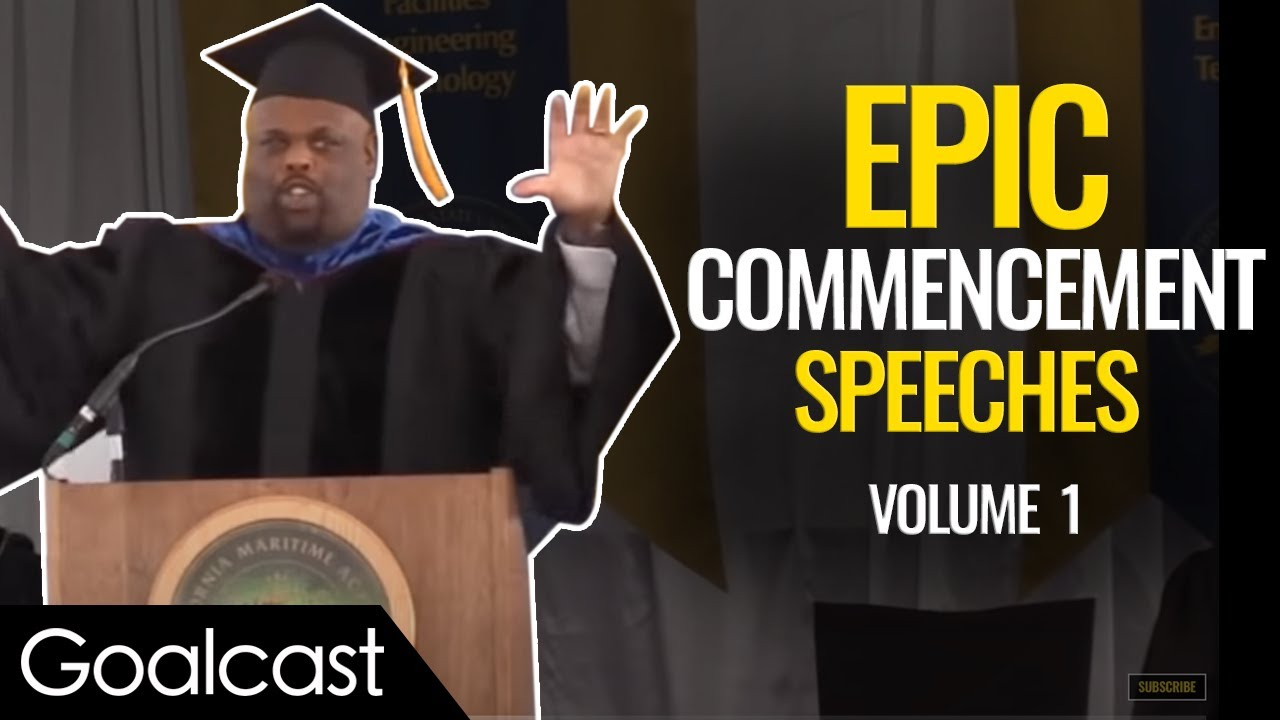 The Best Commencement Speeches to get you pumped for life!