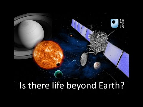 Is there life beyond Earth? World Space Week at the OU