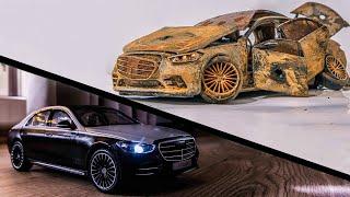 Mercedes-Benz S-Class - Restoration Abandoned Model Car