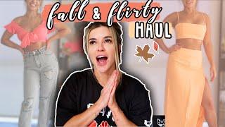 FALL & FEELING FLIRTY TRY-ON HAUL & FIRST IMPRESSIONS