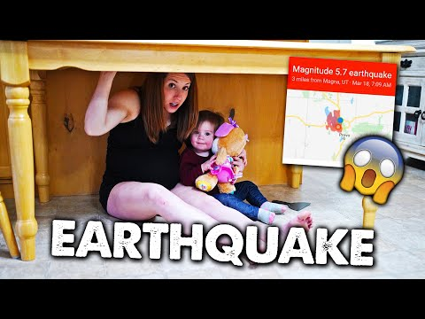 Earthquake Hits Home - What Is Happening?!