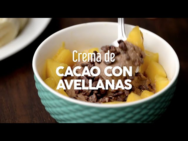 Crema de Caco con Avellanas