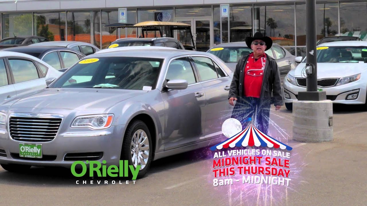 Midnight Sale At O Rielly Chevrolet Tucson Az Your New And Used Car Dealer Youtube