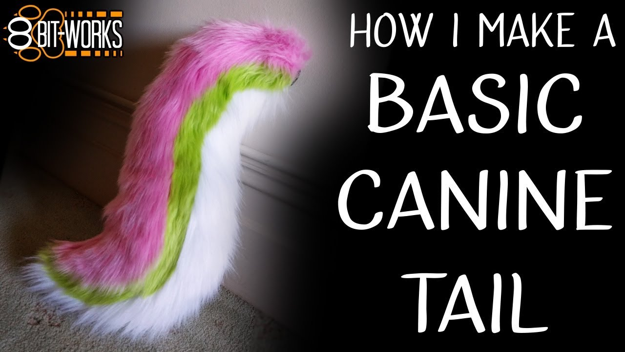 Making A Canine Fursuit Tail