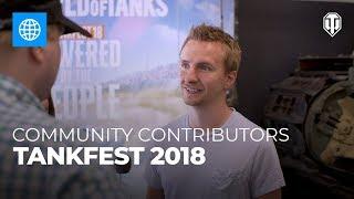 Tankfest 2018: Community Contributors thumbnail