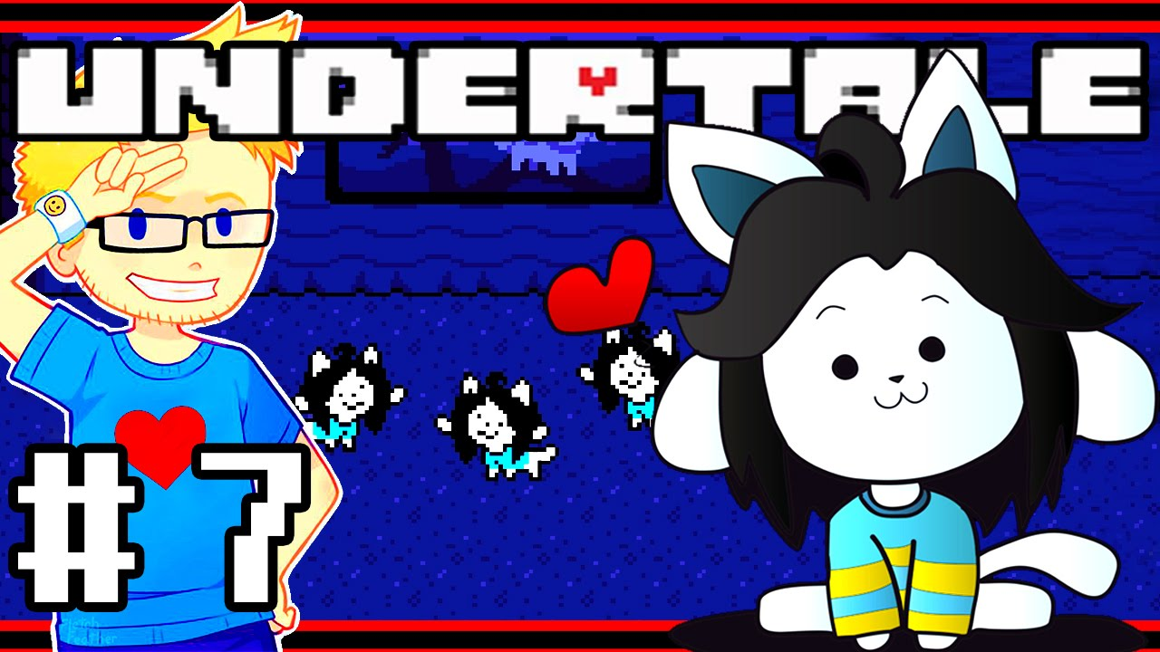 undertale how to get to temmie village