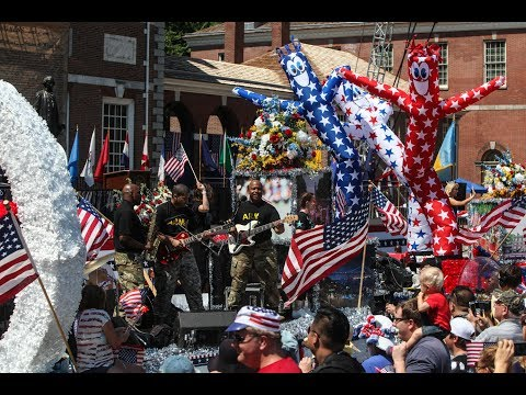 United States of America Independence Day parade in Philadelphia 2017