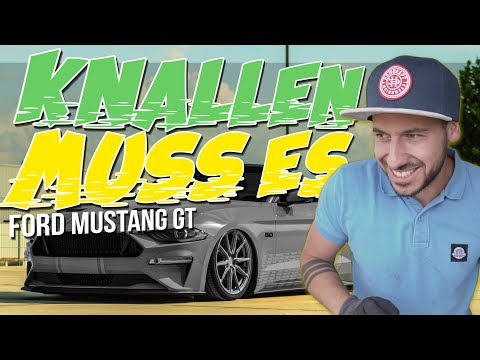 HOW DEEP? // FORD MUSTANG GT - KNALLEN MUSS ES !