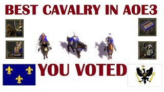BEST Cavalry in Age of Empires III