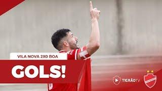 VILA NOVA 2X0 BOA ESPORTE - GOLS