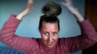 How to create four (4) easy top knots or high buns with your hair Thumbnail