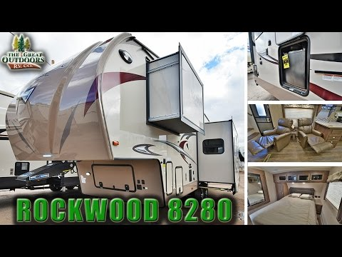 2018 FOREST RIVER ROCKWOOD 8280 R1071 Luxury Fifth Wheel RV Colorado Dealer Sales