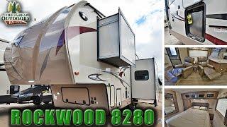 2018 FOREST RIVER ROCKWOOD 8280 R1071 Luxury Fifth Wheel RV Colorado Dealer Sales