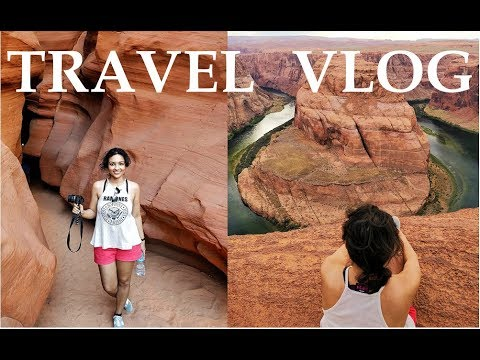 Vegas to Grand Canyon Drive | Travel Guide | Antelope Canyon | Horseshoe Bend | Travel Vlog