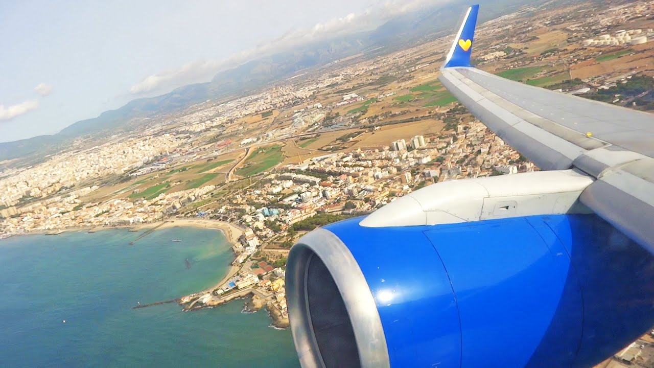 thomas cook boeing 757 300 great sound take off at palma. Black Bedroom Furniture Sets. Home Design Ideas