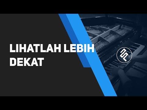 Sherina - Lihatlah Lebih Dekat Piano Cover Instrumental Synthesia / Chord / Lirik / Tutorial