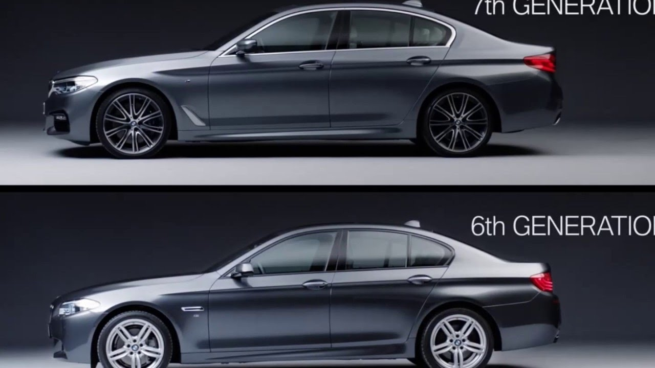 Bmw 5 Series 6th Vs 7th Generation Youtube