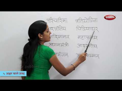 Five Letter Words In Hindi   हिन्दी शब्द   Varnamala   Reading 5 Letter Hindi Words   Hindi Phonics