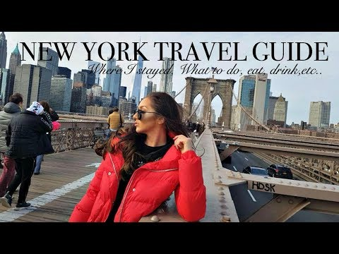 NEW YORK TRAVEL GUIDE // Advice, Things to do & more!