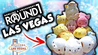 We WON TOO MUCH at the NEW Round 1 arcade in Las Vegas!