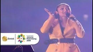 Siti Badriah, Dj Jevin dan Winky Wiryawan - Syantik   Closing Ceremony Asian Games 2018