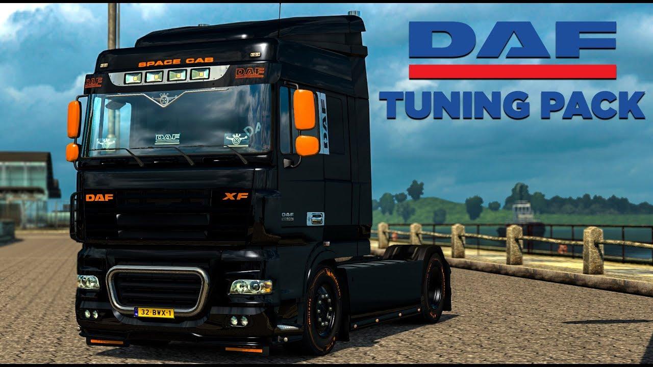 daf tuning pack dlc euro truck simulator 2 youtube. Black Bedroom Furniture Sets. Home Design Ideas