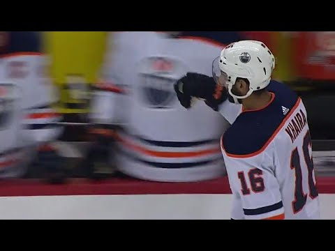 Oilers' Khaira opens scoring against Capitals with first goal since January 2017