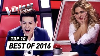 TOP 10 | BEST 'Blind Auditions' of The Voice Kids 2016 | The Voice Global