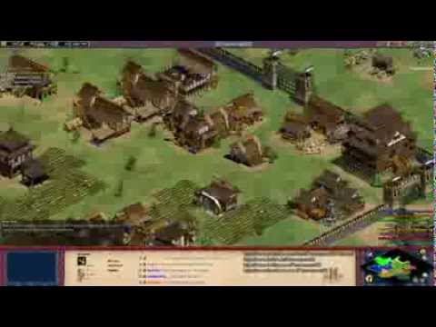 "Aoe2 HD ""The Forgotten"": 4v4 Arena (Koreans, Economic Boom) (12/14/13)"