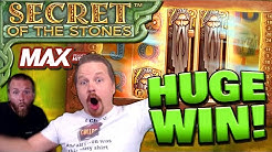 MEGA BIG WIN on Secret of the Stones MAX! (€10 Bet)