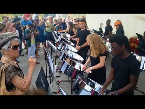 PRINCETON'S STEEL DRUM BAND DEBUTS
