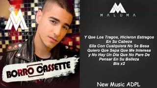 Maluma - Borro Cassette (Letra/Lyrics) REGGAETON 2015