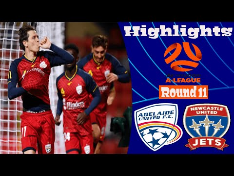Adelaide United Newcastle Jets Goals And Highlights