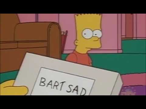 BART SAD// I spoke to the devil in Miami, he said everything would be fine XXTENTACTION