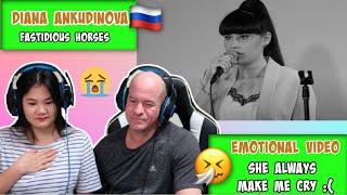Diana Ankudinova - Кони привередливые | Reaction