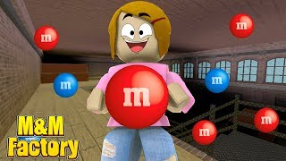 Roblox Tycoon M&M Factory With Molly And Daisy!