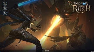 Dungeon Rush: Rebirth (Unreleased) Gameplay | Android Role Playing Game
