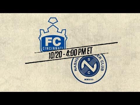2018 #USLPLAYOFFS - FC Cincinnati vs Nashville SC: October 20th, 2018