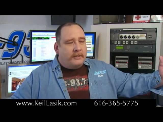 Conrad 93.7 FM Radio Host - Keil Lasik Patient Testimonial | Keil Lasik