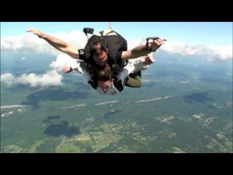 high speed Pig Plunge! Capital Q Smokehouse field trip at Skydive The Ranch