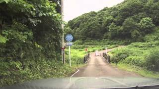 20130720【車載カメラ】福島県道385号一ノ木藤沢線(行き止まりまで往復)