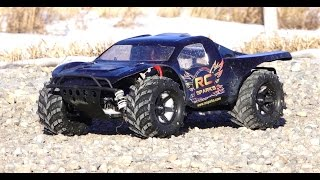 RC ADVENTURES MONSTER TRAXAS SLASH 4x4 HCG 3s Lipo 2 8 Masher Tires
