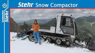 Stehr Snow Compactor Hintertuxer Gletscher deutsch