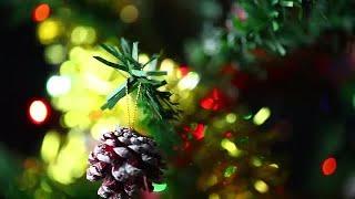 Christmas Decor And Celebration  Stock Video