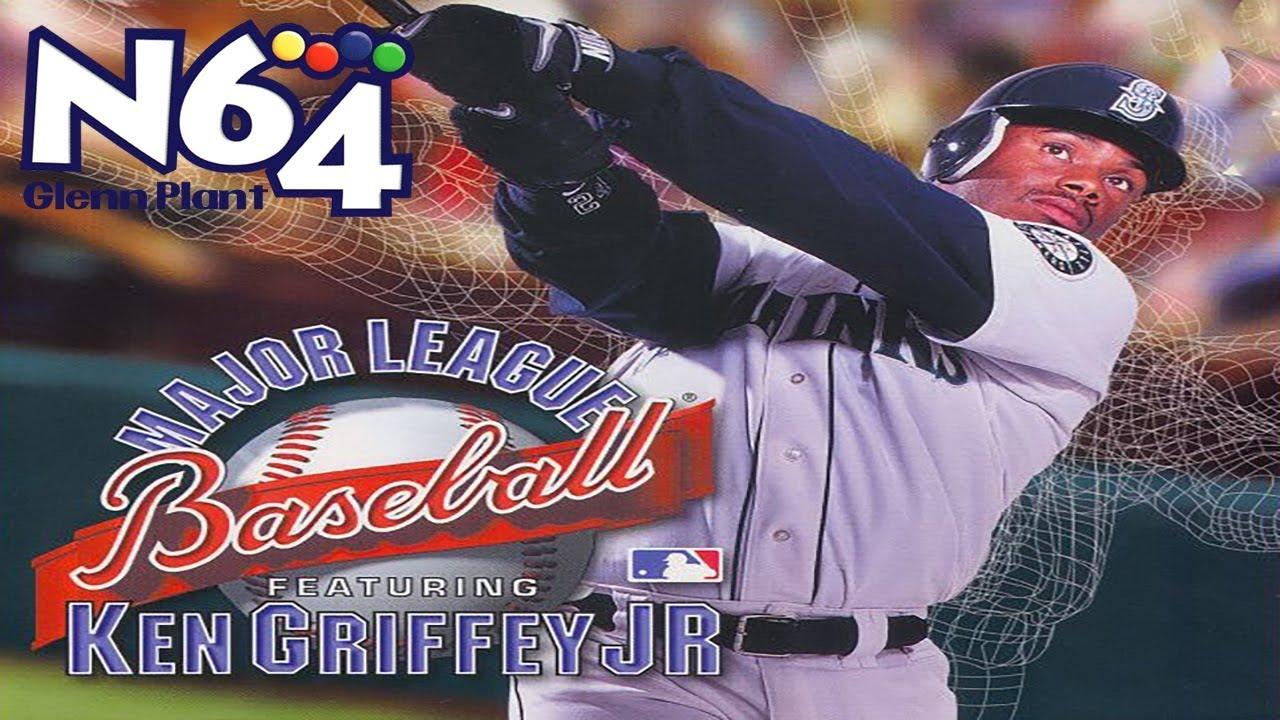 cdb6357d10 Major League Baseball Feat. Ken Griffey Jr. - Nintendo 64 Review - Ultra  HDMI - HD