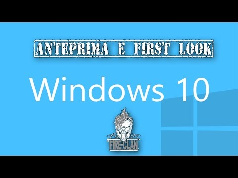 Tech side | Windows 10 - Anteprima e First look